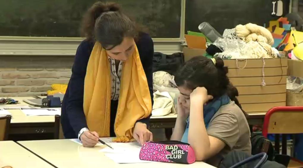 Saint-Josse: des élèves du primaire suivent un stage de remise à niveau en prévision du CEB