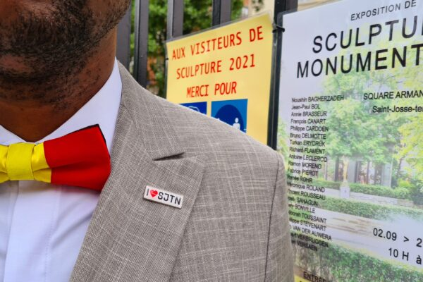 Vernissage de l'Exposition au Square Armand Steurs de Saint-Josse